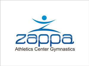 Logo Design job – Zappa Athletics center - Gymnastics school needs logo – Winning design by nokiarie concept