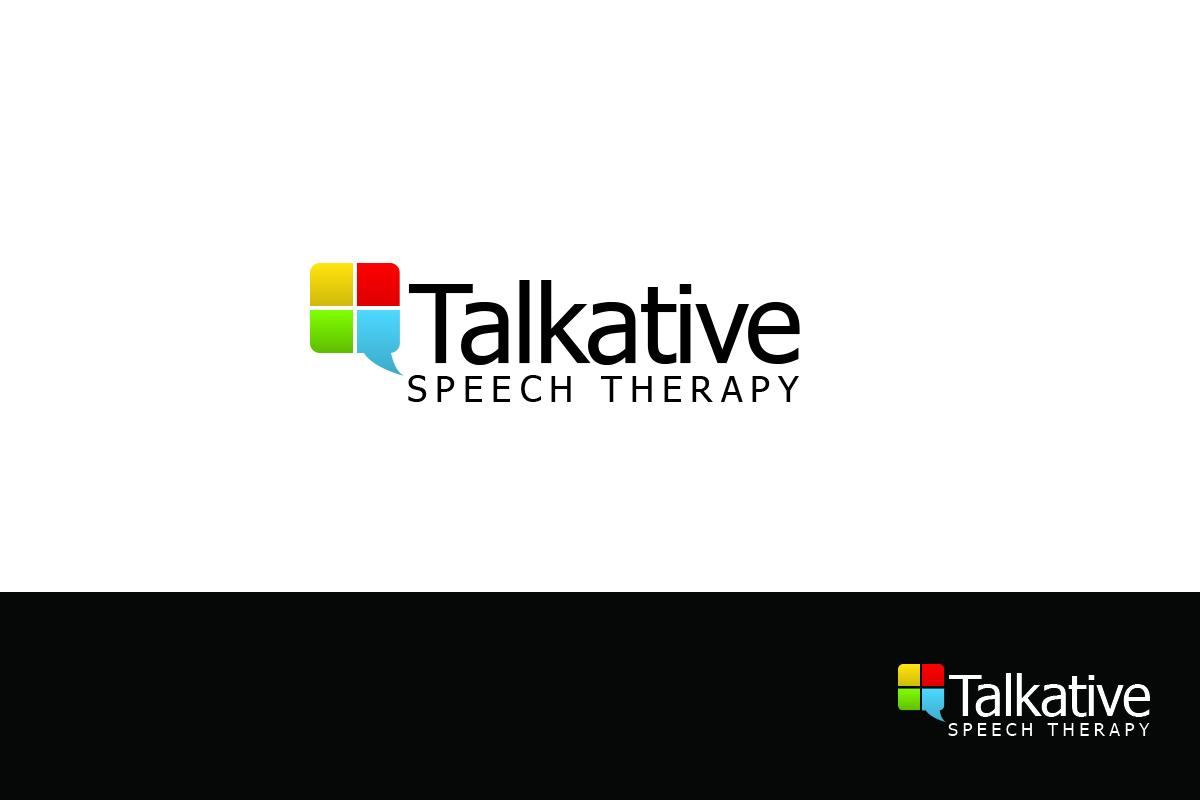 Speech Therapy Logo Speech therapy logo design