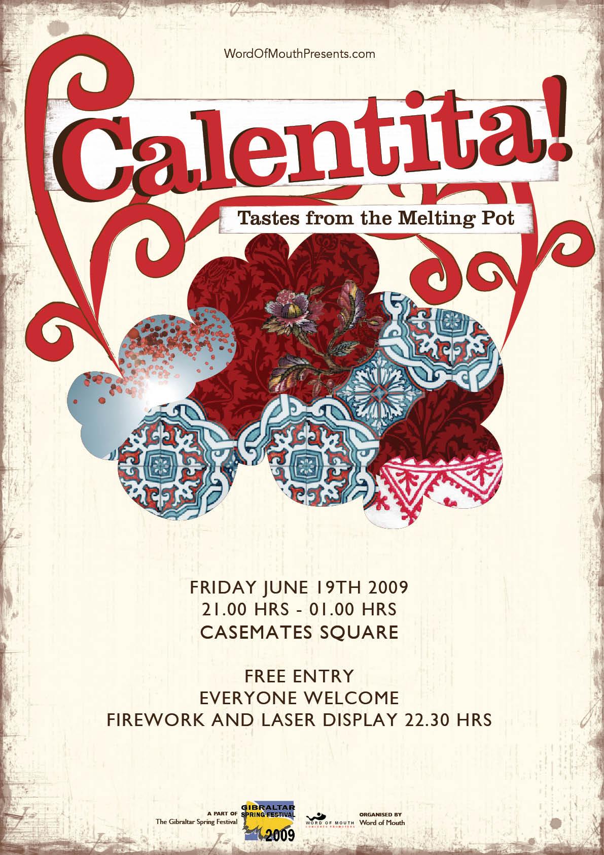 Poster Design by Mei for Calentita! Poster - Design #11433