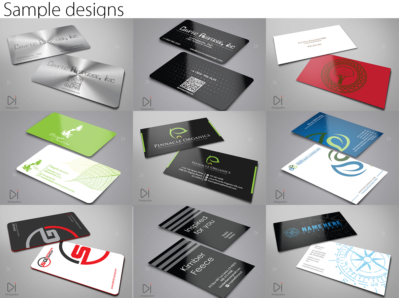 Conservative Upmarket Business Business Card Design For A Company