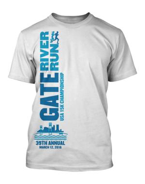 T-shirt Design by Khumi Shan - 2016 GATE River Run  T-shirt