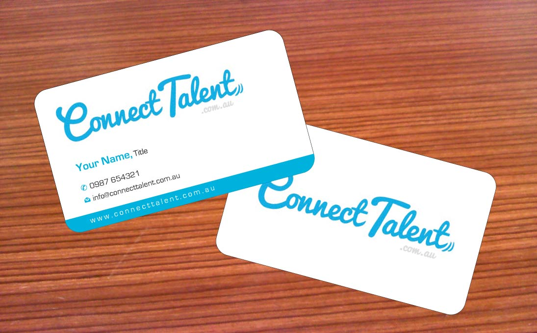 Business card design for connecttalent by sbss design 1746078 business card design by sbss for australias newest tech recruitment startup design 1746078 reheart Image collections