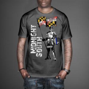 T-shirt Design by VintageDesigner - Midnight South Police T-Shirt Design
