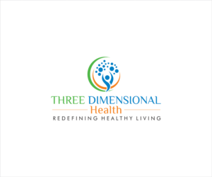 Logo Design for Three Dimensional Health Logo with graphic, name of company and possibly tagline by balu siddu
