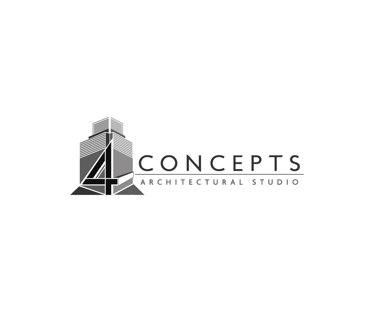 Serious modern logo design for 4 concepts by m pirs for Architecture design company