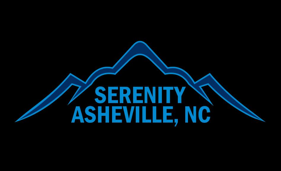 Upmarket feminine real estate development logo design for Asheville t shirt company