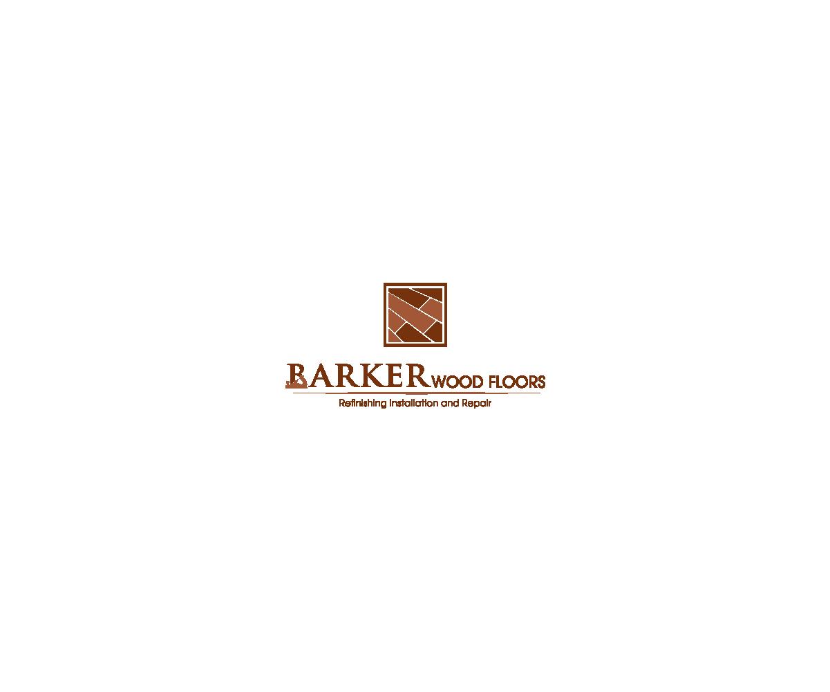 Masculine, Bold, Woodworking Logo Design For Barker Wood