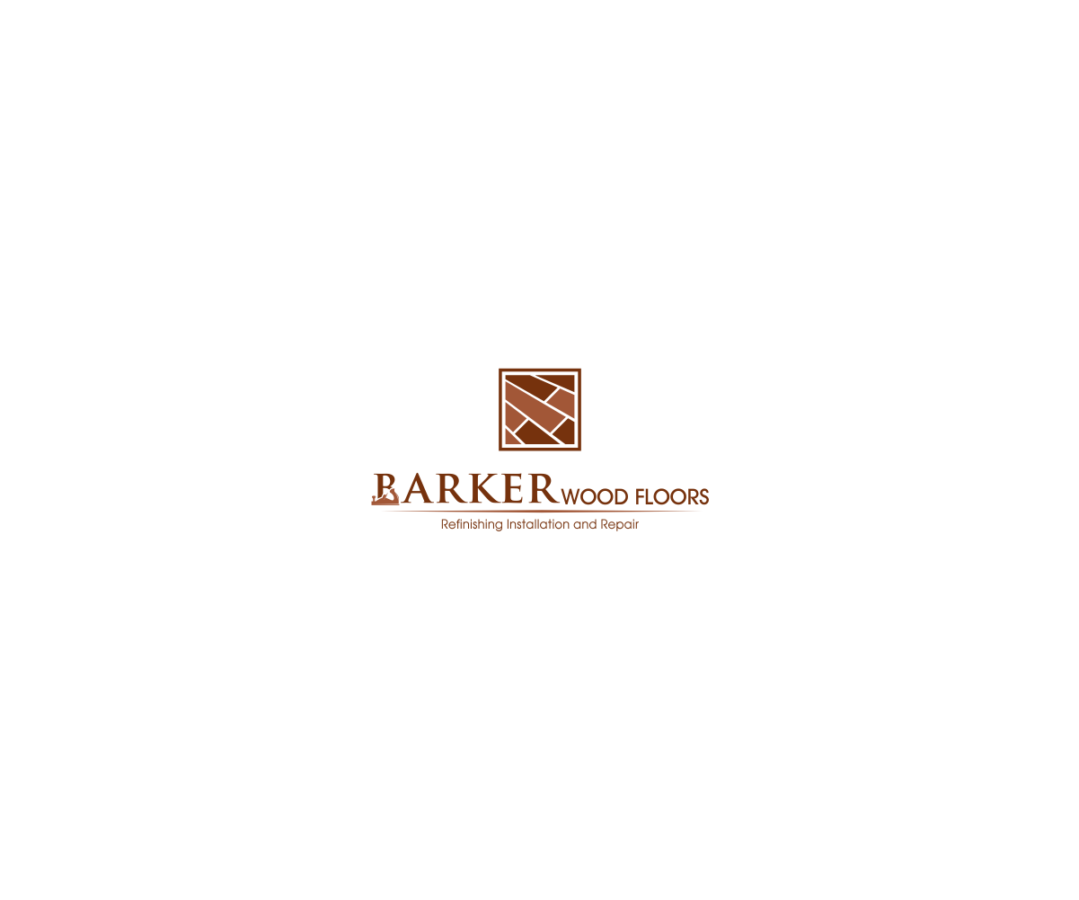 Masculine bold logo design for barker wood floors by ashu for Floor and decor logo