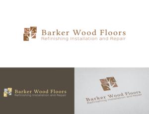 Logo Design By STOESKI For Barker Wood Floors