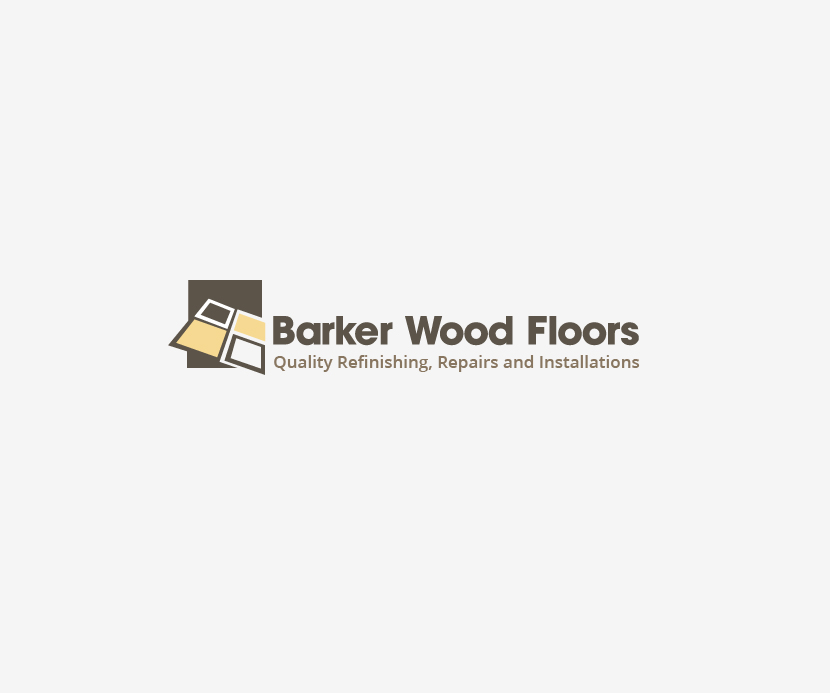 Masculine bold logo design for barker wood floors by for Floor and decor logo