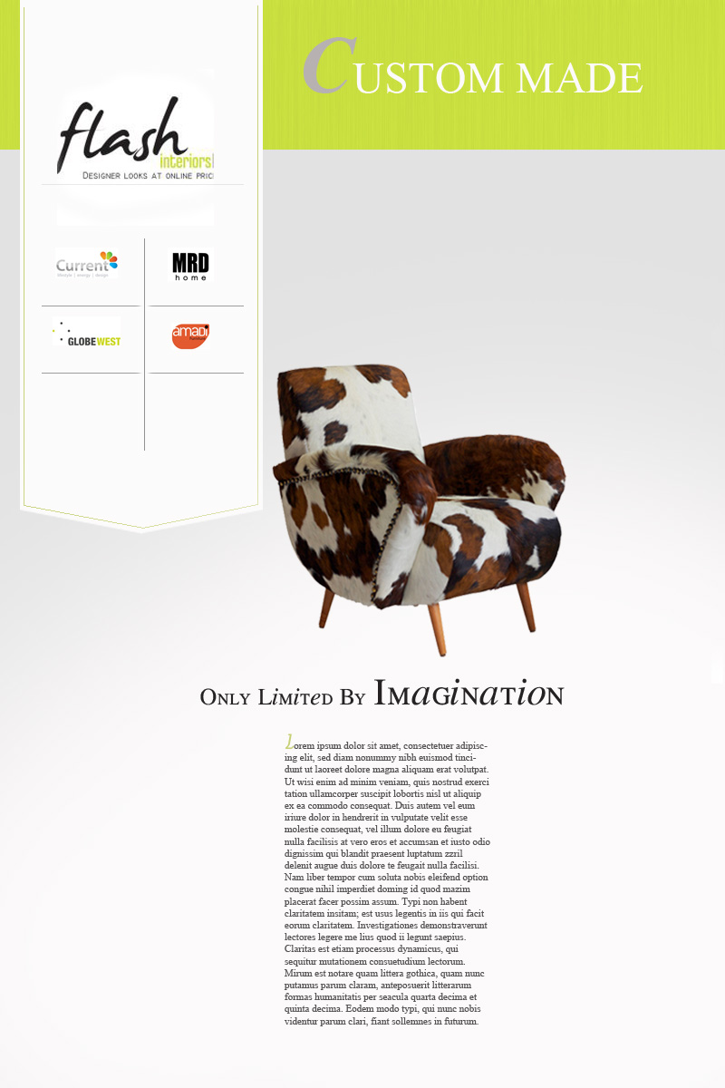 Modern Furniture Ads 7 bold modern newspaper ad designs for a business in australia