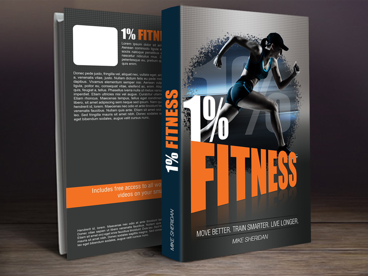 Book Cover Designing Free ~ Elegant playful health and wellness book cover design for a