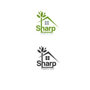 Logo Design For Sharp Property Care By Timedesigns