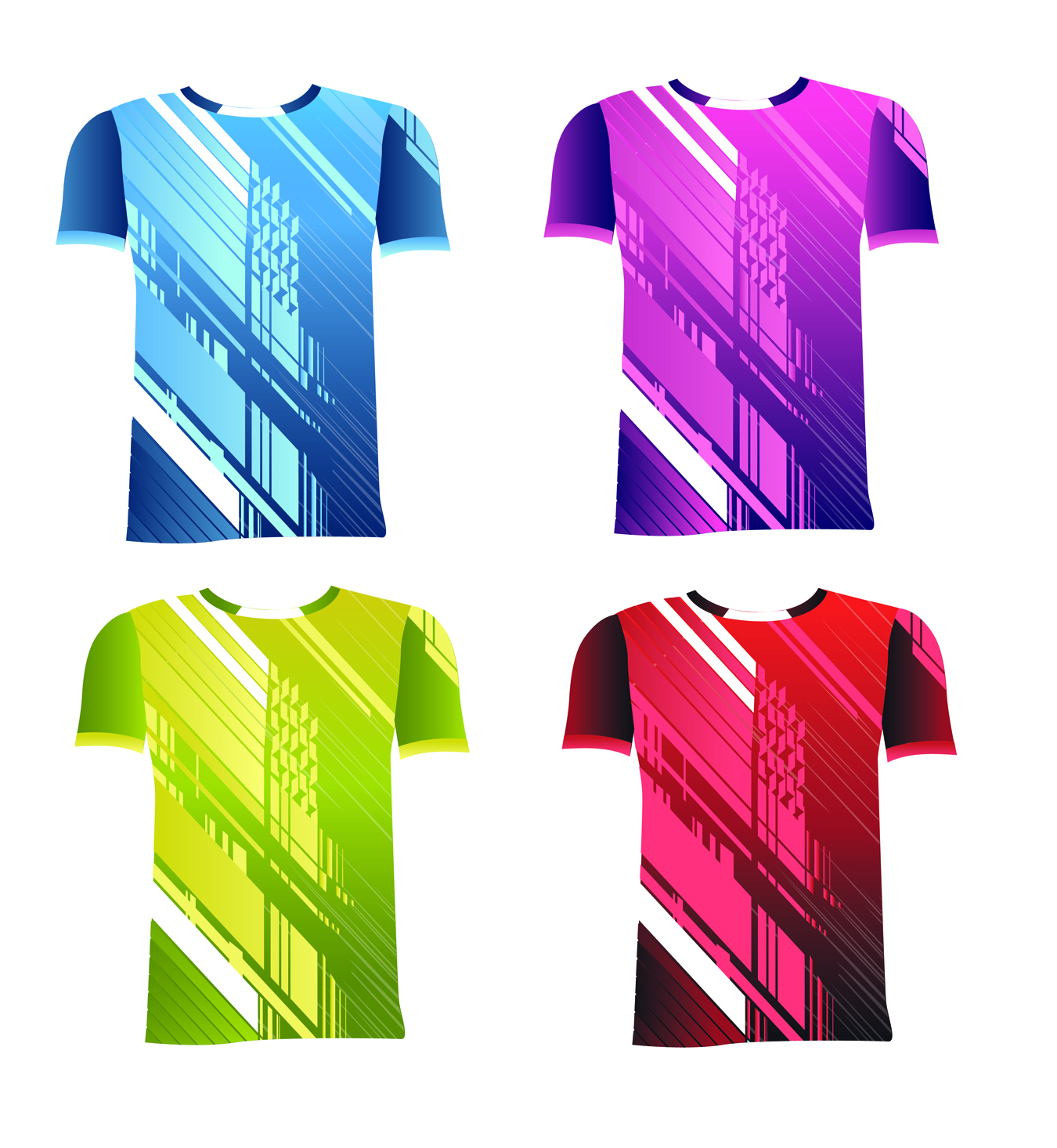 Colorful modern t shirt design for md textile sdn bhd by for Modern t shirt designs