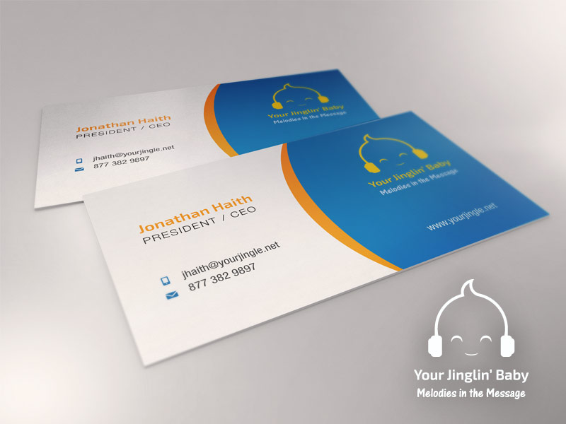 37 Bold Business Card Designs | Baby Business Card Design Project ...