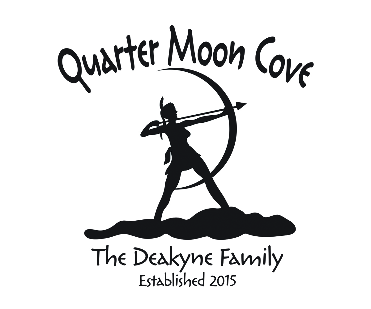 l gant traditionnel house design de logo for quarter moon cove the deakyne family. Black Bedroom Furniture Sets. Home Design Ideas
