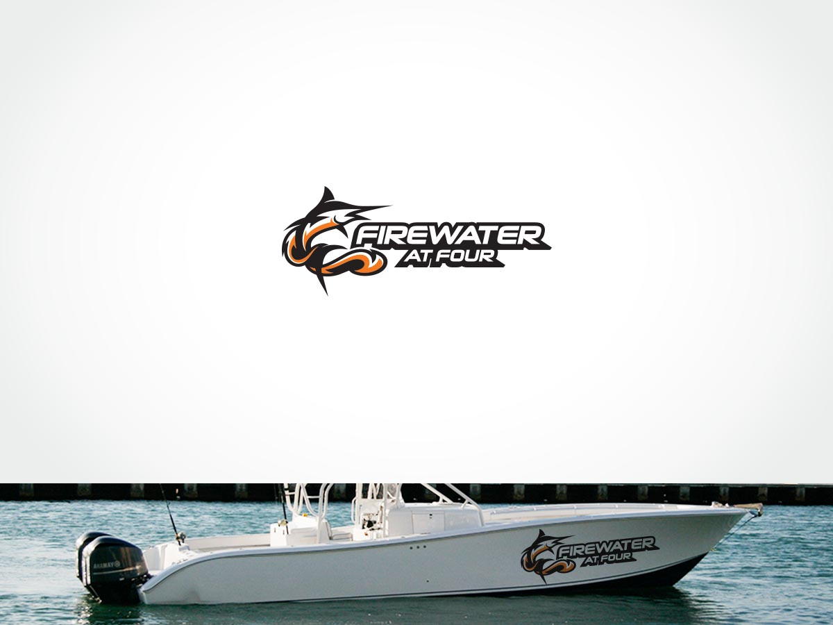 Graphic Design By ArtTank For Yellowfin 42 Center Console Boat Name