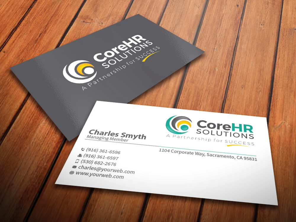Professional, Feminine, Management Consulting Business Card Design ...