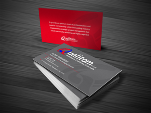 Simple Business Card Design 1764261