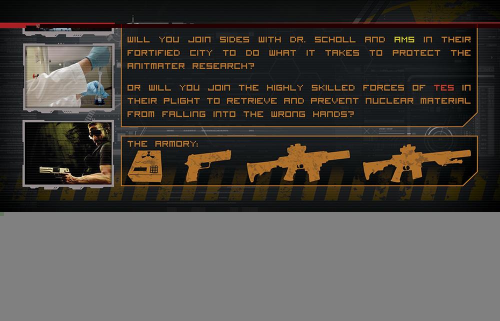 Character Design Jobs In Atlanta : Modern bold marketing brochure design for war games