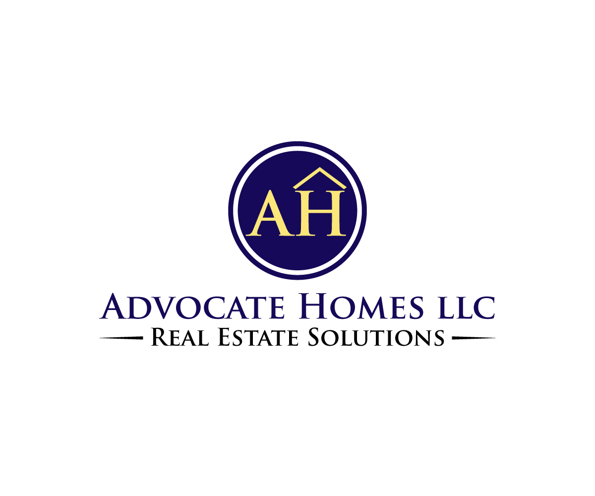 Modern professional real estate development logo design for Modern homes llc