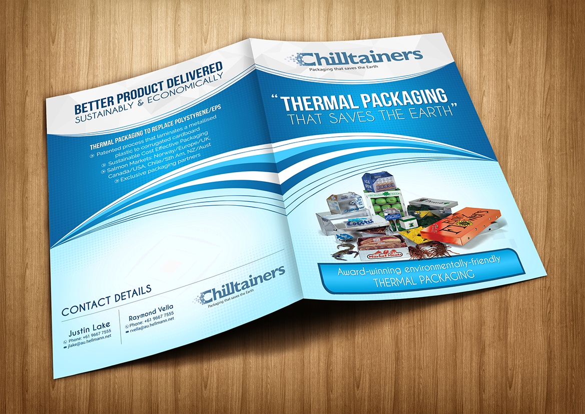 Professional, Modern, It Company Brochure Design for Hellmann