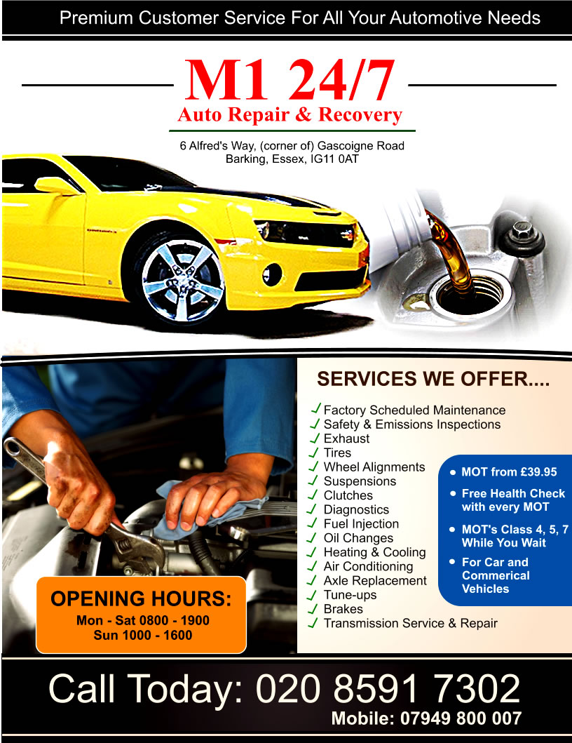 Atrevido serio car repair dise o de flyer for beauty by for Garage fiat flers