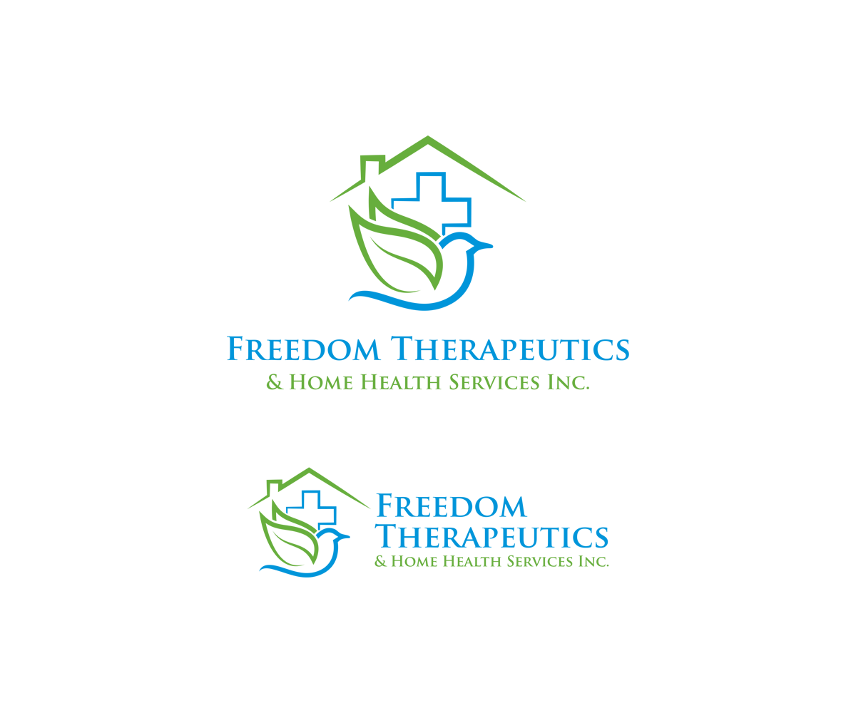 Professional, Colorful, Home Health Care Logo Design for Freedom ...