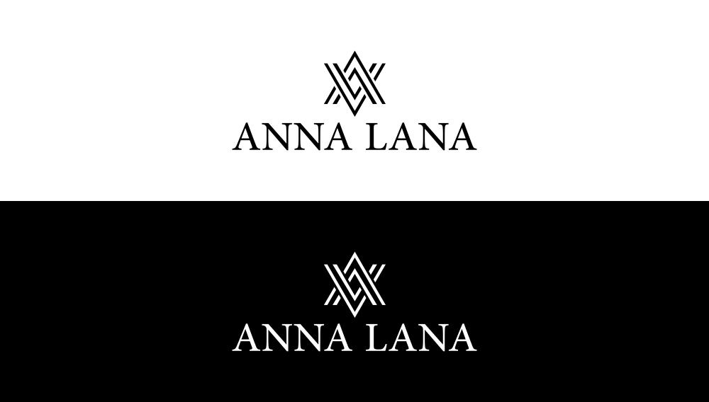 Anna Lana Triangle Logo Design by artsterdam