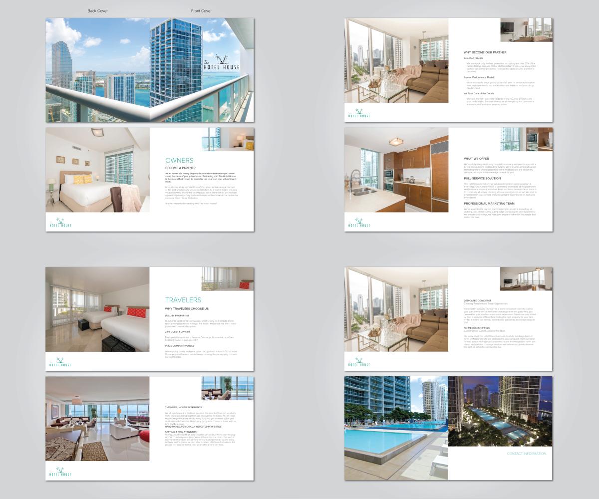 Modern bold brochure design for koby assaraf by elit for Design studio brochure