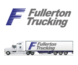 Bold Playful Trucking Company Logo Design For Fullerton