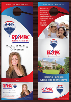 Real Estate Business Card Design 1763894