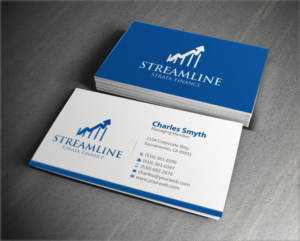 52 Professional Business Card Designs Financial Service Business