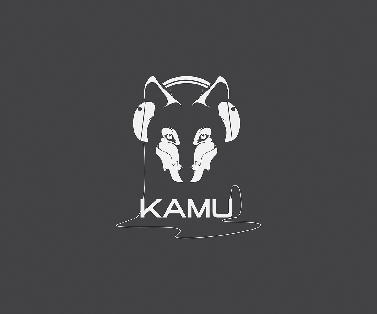 Wolf musician Logo by ace of spade