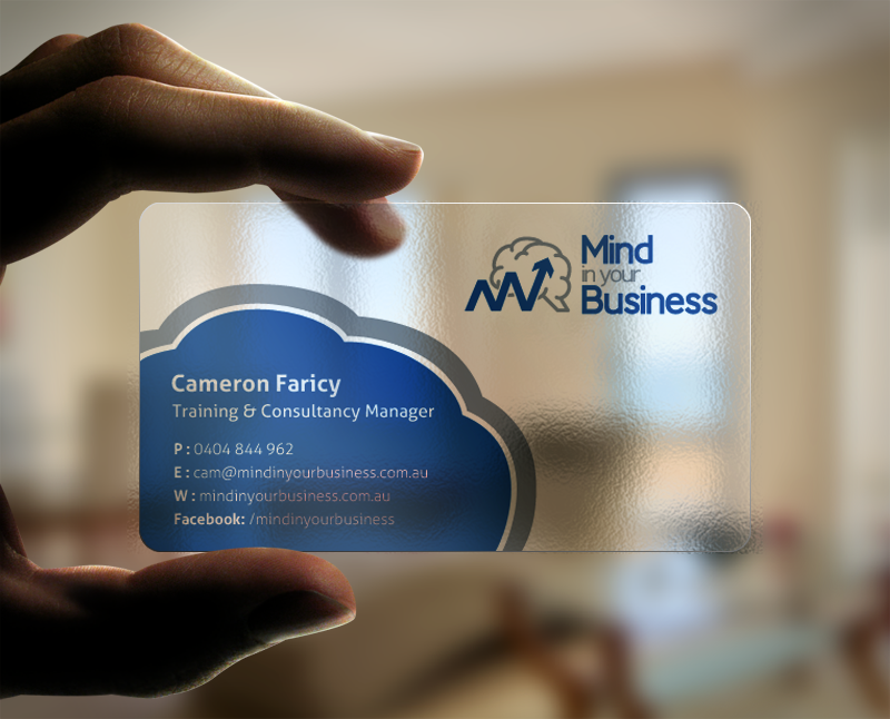 Serious modern mental health business card design for mind in your business card design by chandrayaaneative for mind in your business design 6810816 colourmoves