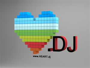 Simple 3D heart for logo website | 27 3D Designs for a