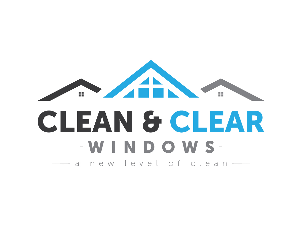 Modern bold logo design for clean clear windows by for House windows company