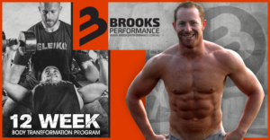Banner Ad Design by Mila@CreativeMotions - 12 Week Body Transformation - Brooks Performance