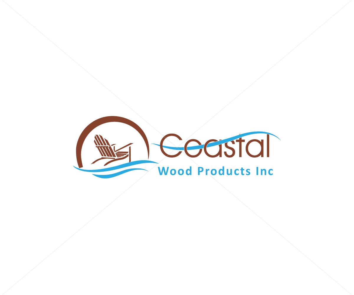 Coastal logo design for outdoor furniture company
