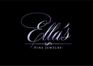 117 Elegant Serious Jewelry Logo Designs for Ellas Fine Jewelry a
