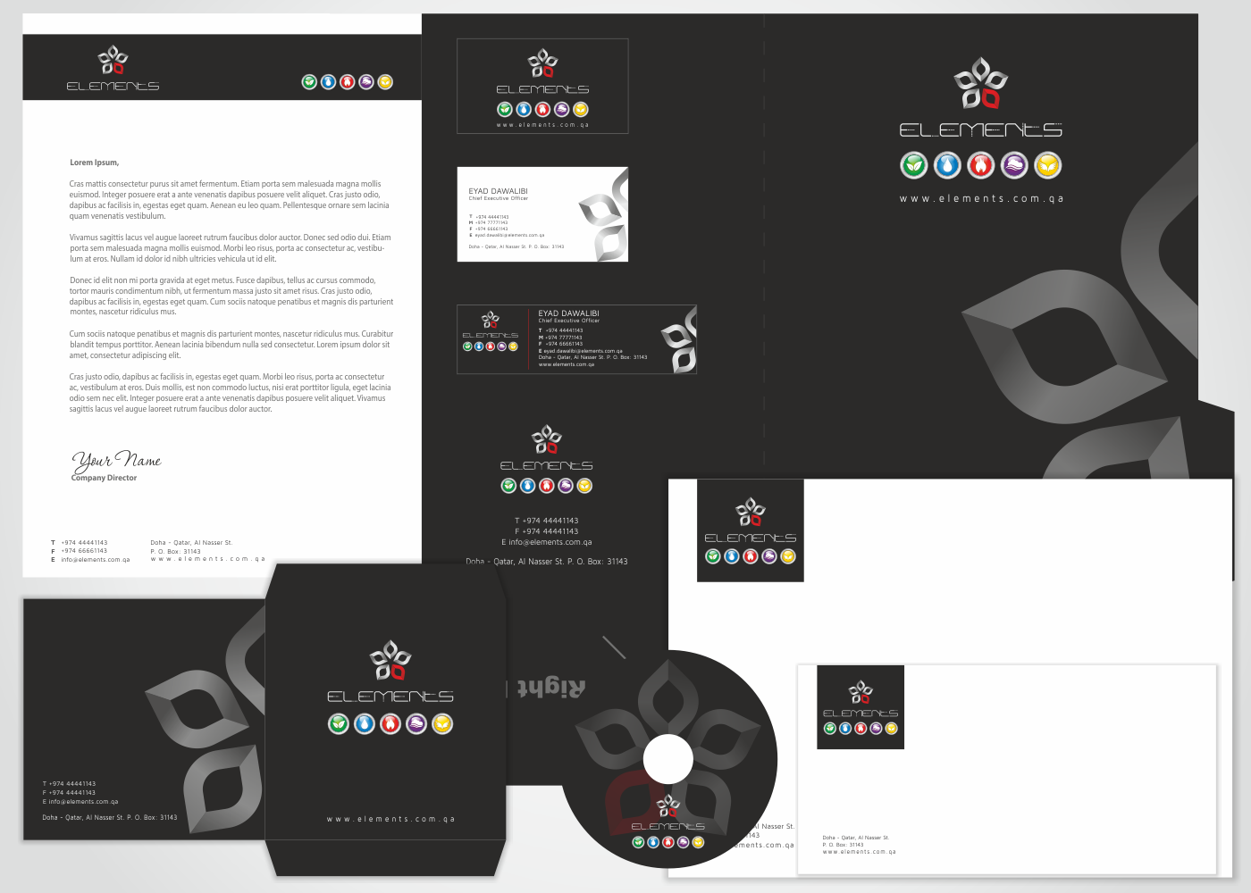 Elegant, Serious Stationery Design job  Stationery brief for
