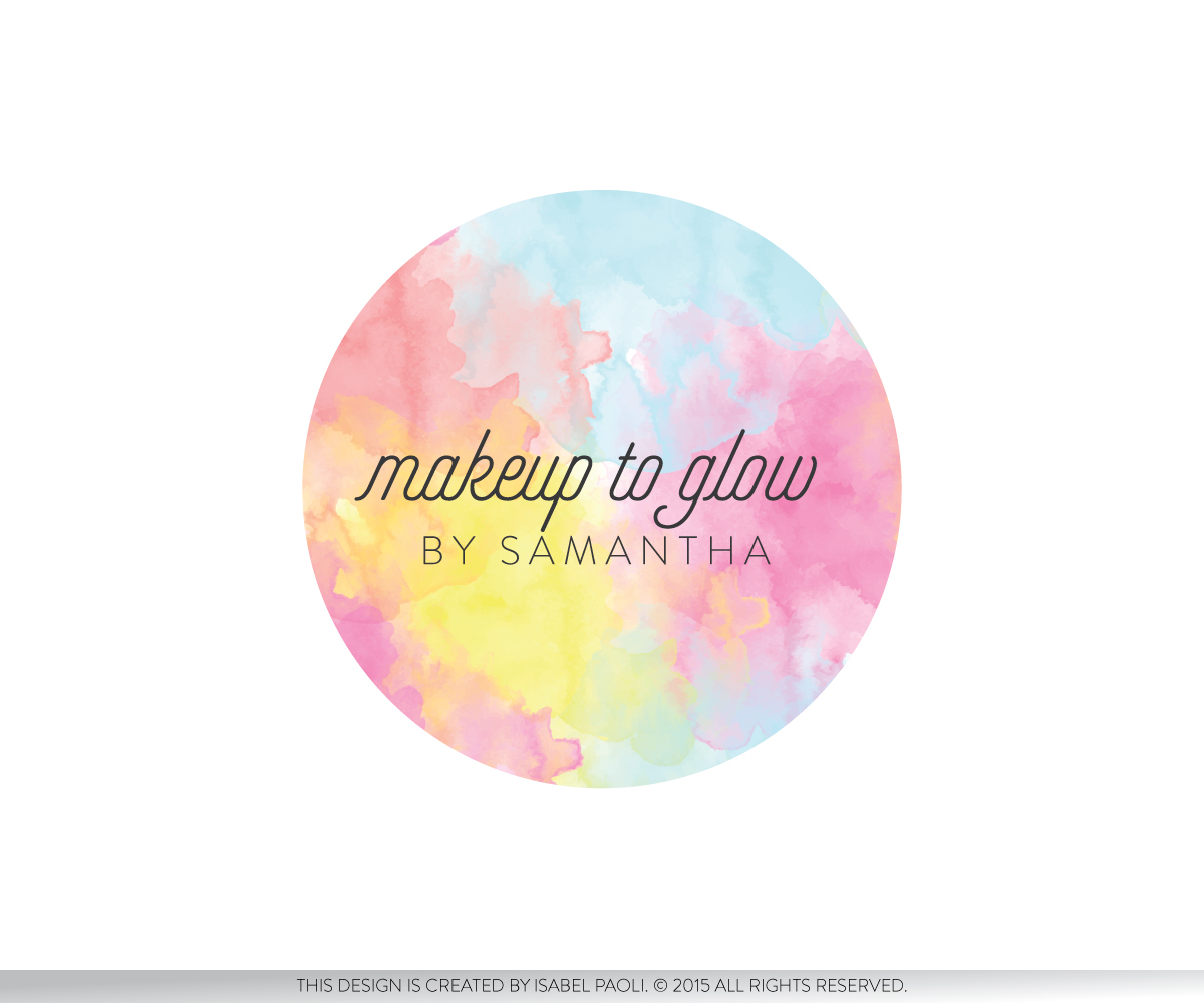 Makeup to glow Logo Design by isabel paoli