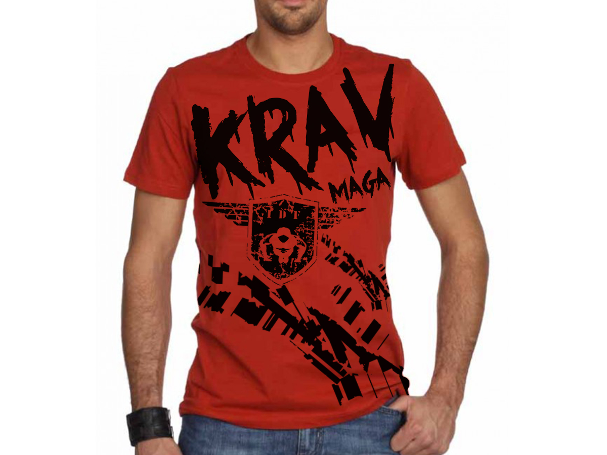 Masculine elegant gym t shirt design for a company by for Gym t shirts india