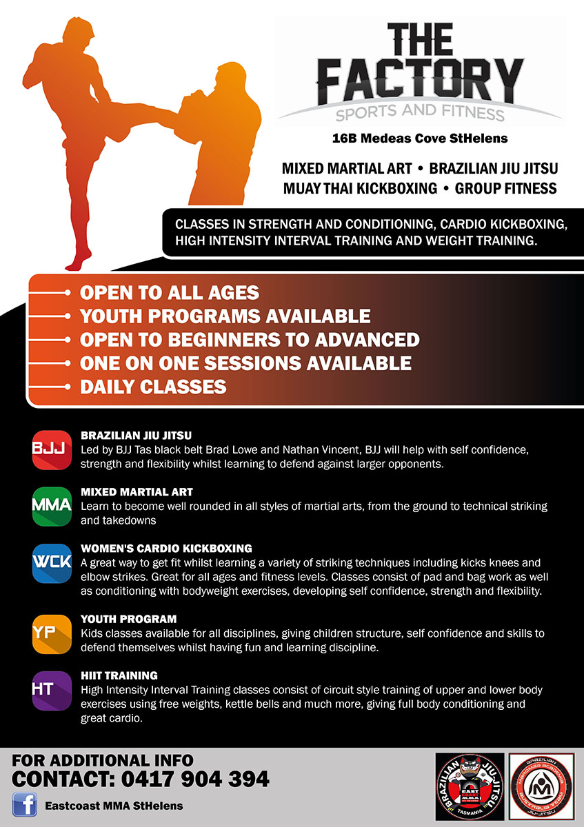 Fitness ,martial arts and strength and conditioning training