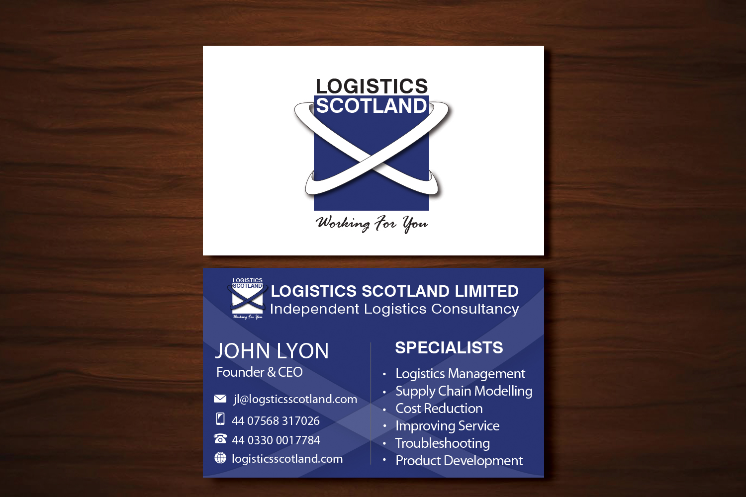 Bold, Professional, Business Business Card Design for a Company by ...