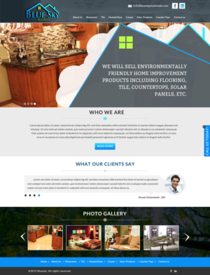 38 Upmarket Serious Home Improvement Web Designs For A Business In United States