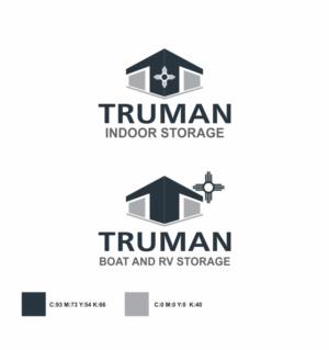 Logo Design by pa2pat - Truman Self-Storage & Truman RV and Boat Storage