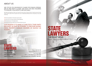 Brochure Design (Design #1770448) Submitted To Brochure Design Project Law  Firm (Closed