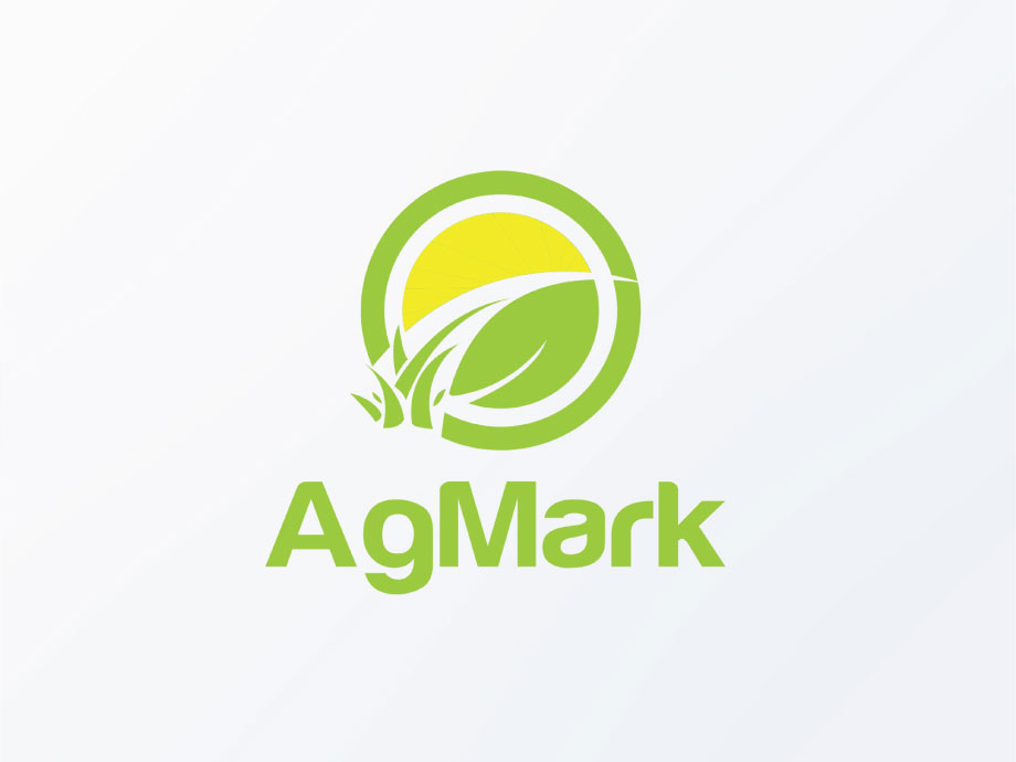 serious modern agriculture logo design for agmark by