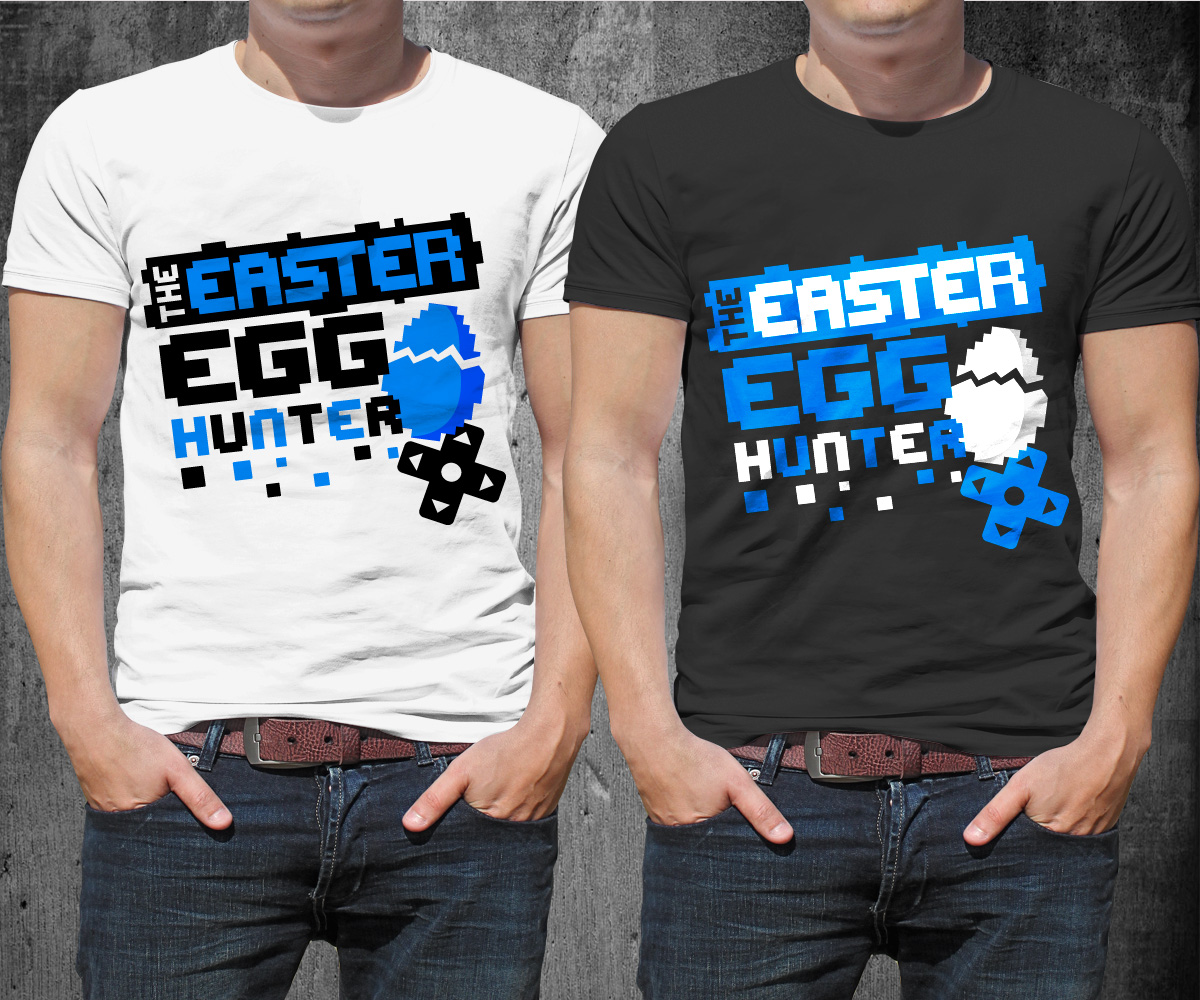 Design t shirt youtube - T Shirt Design By Trhz For The Easter Egg Hunter Gaming Youtube Channel Needs A
